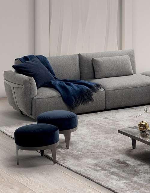 Sofas In Leather And Fabric | Natuzzi Italia